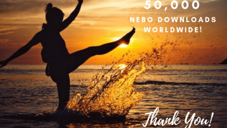 Nebo reaches 50,000 downloads